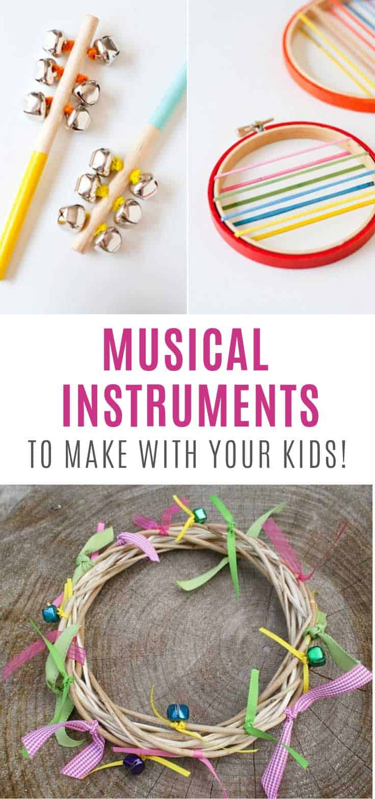 Loving these DIY musical instruments!