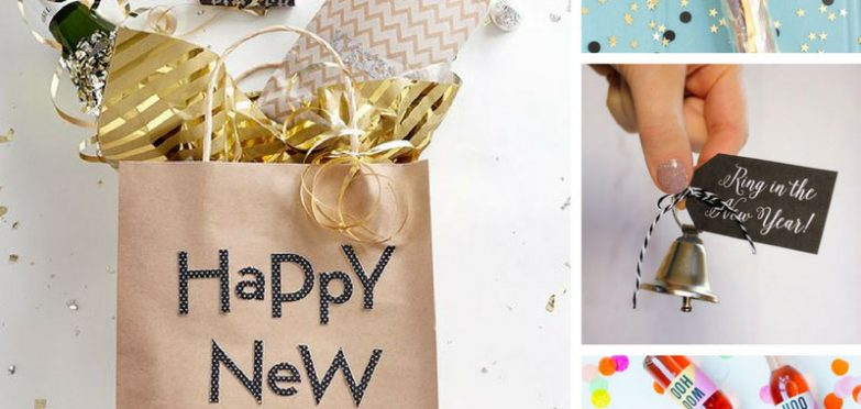 In Style Party Favors: 17 DIY New Year's Eve Party Favors To Welcome 2018 In Style