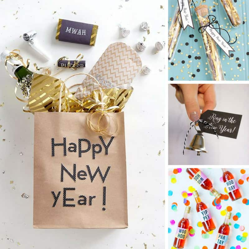 Welcome 2018 in style with these fabulous DIY New Year's Eve party favors