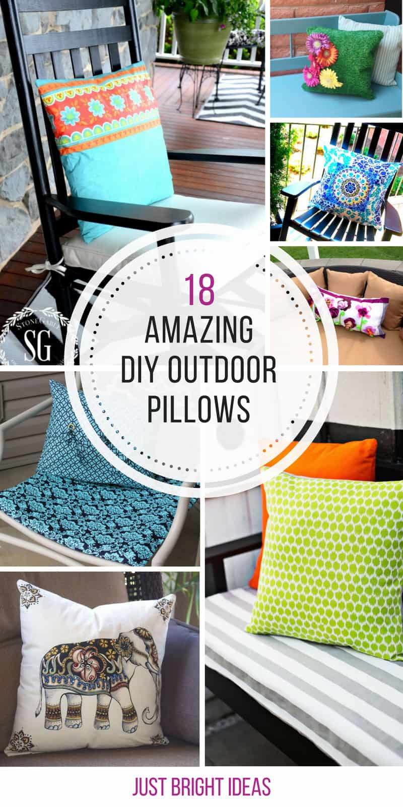 Loving these DIY outdoor pillows! Thanks for sharing!