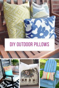 Loving these DIY outdoor pillows for my porch! Thanks for sharing!