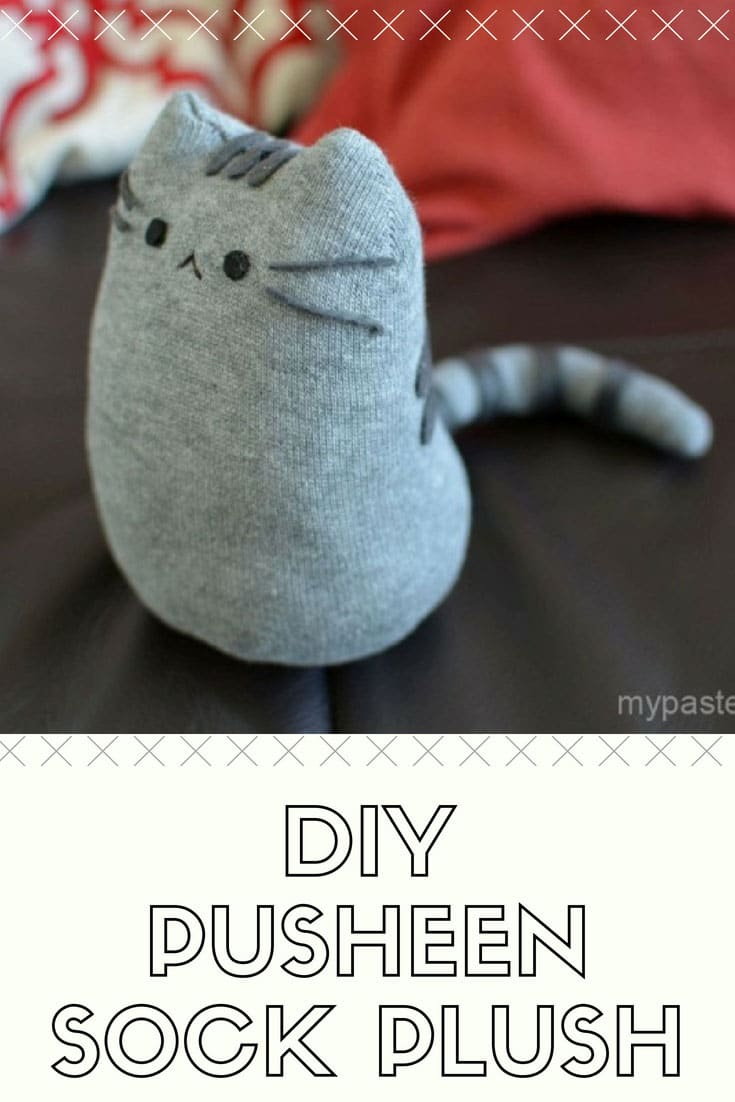 DIY Pusheen Sock Plush Tutorial