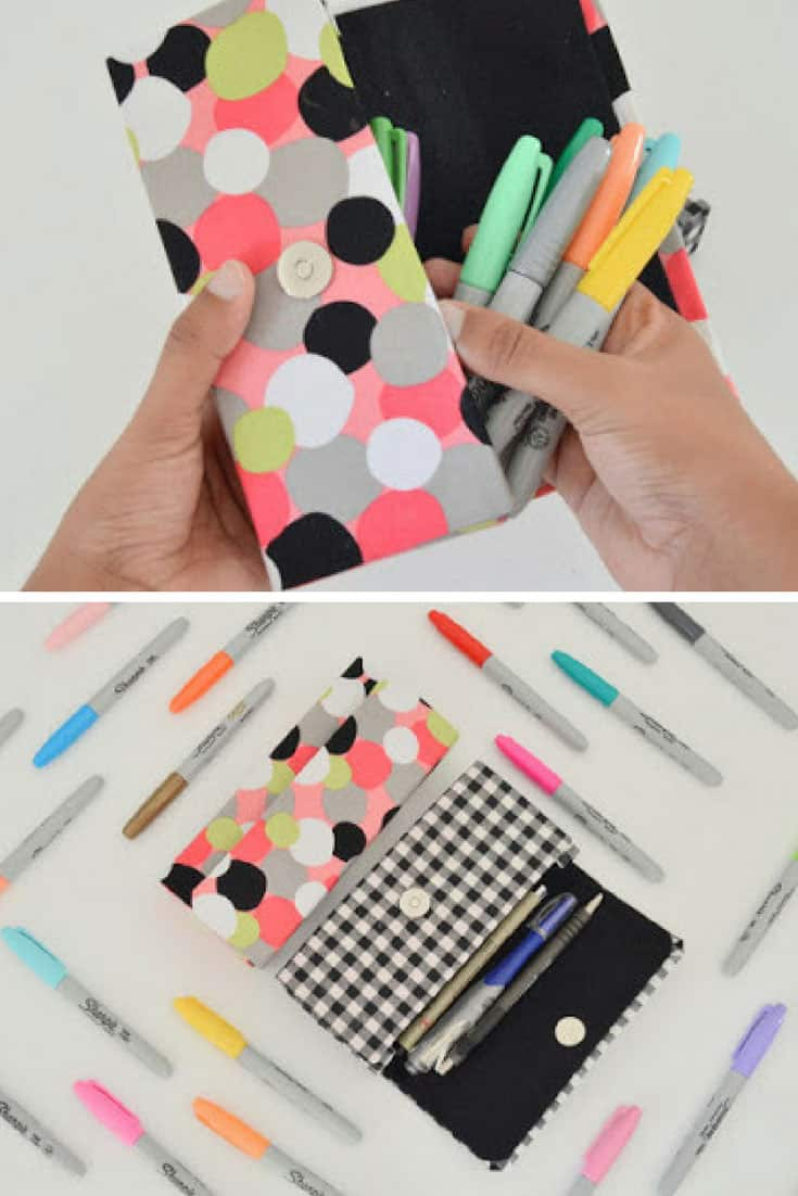 DIY Pencil Case Using a Cereal Box