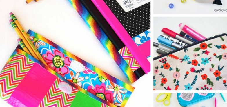 These back to school DIY pencil cases are fabulous! Thanks for sharing!