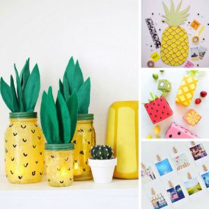 Loving these DIY pineapple crafts! Thanks for sharing!