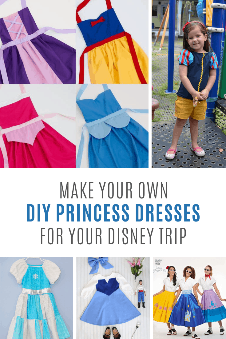 These DIY princess dresses are perfect for play dates and vacations!
