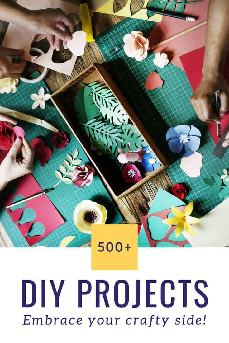 Did you know DIY projects were a form of self care? Time to get crafting!