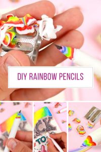 Loving these DIY rainbow pencils! So colourful! Thanks for sharing!