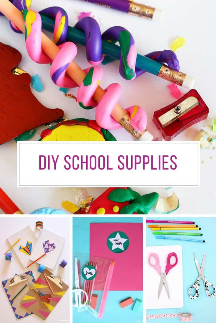 Loving these DIY school supplies. Thanks for sharing!