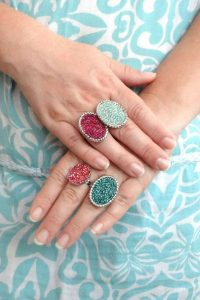 Loving these DIY seed rings! Thanks for sharing!