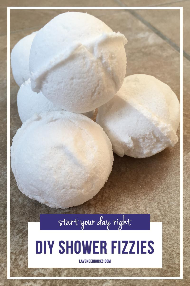Oh these shower fizzies are super easy - perfect for a Make and Take!
