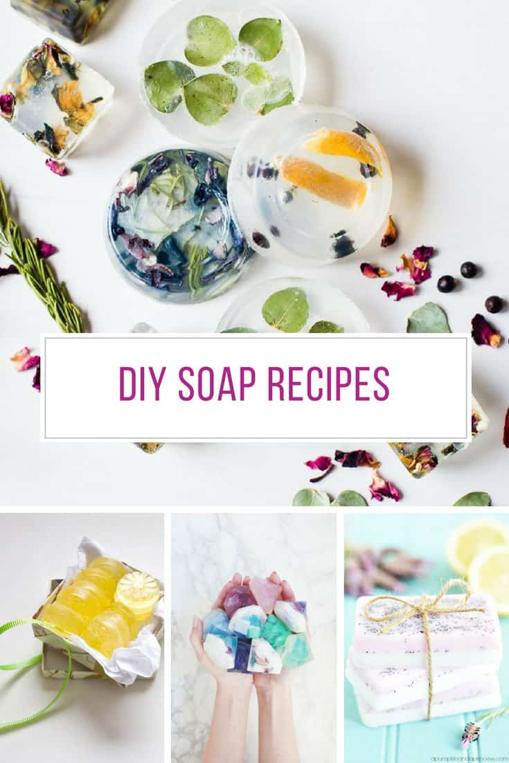 Loving these DIY Soap Recipes - Thanks for sharing!