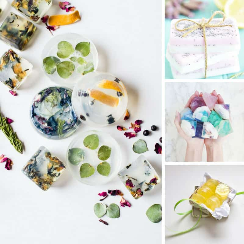 These handmade soaps are beautiful!
