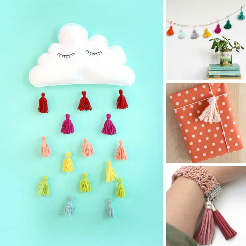 Loving these DIY tassel projects!