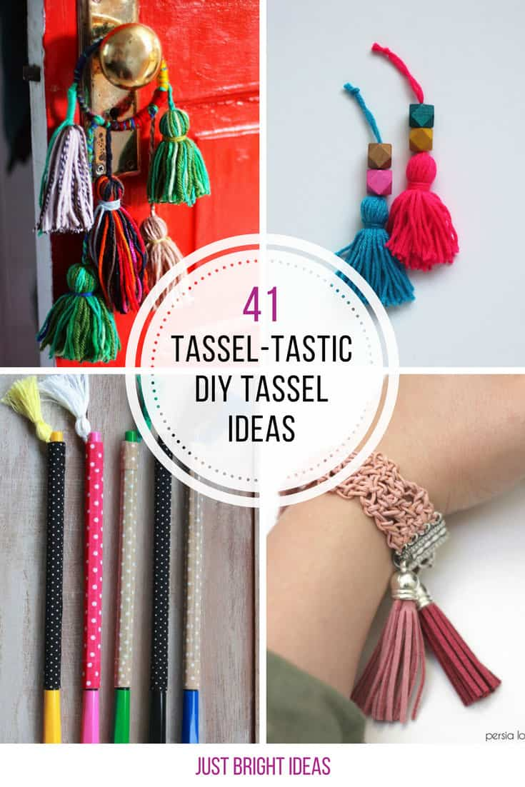 Loving these DIY tassel projects - Thanks for sharing!!