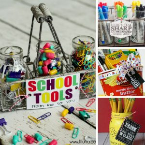 Loving these DIY teacher gifts for back to school!