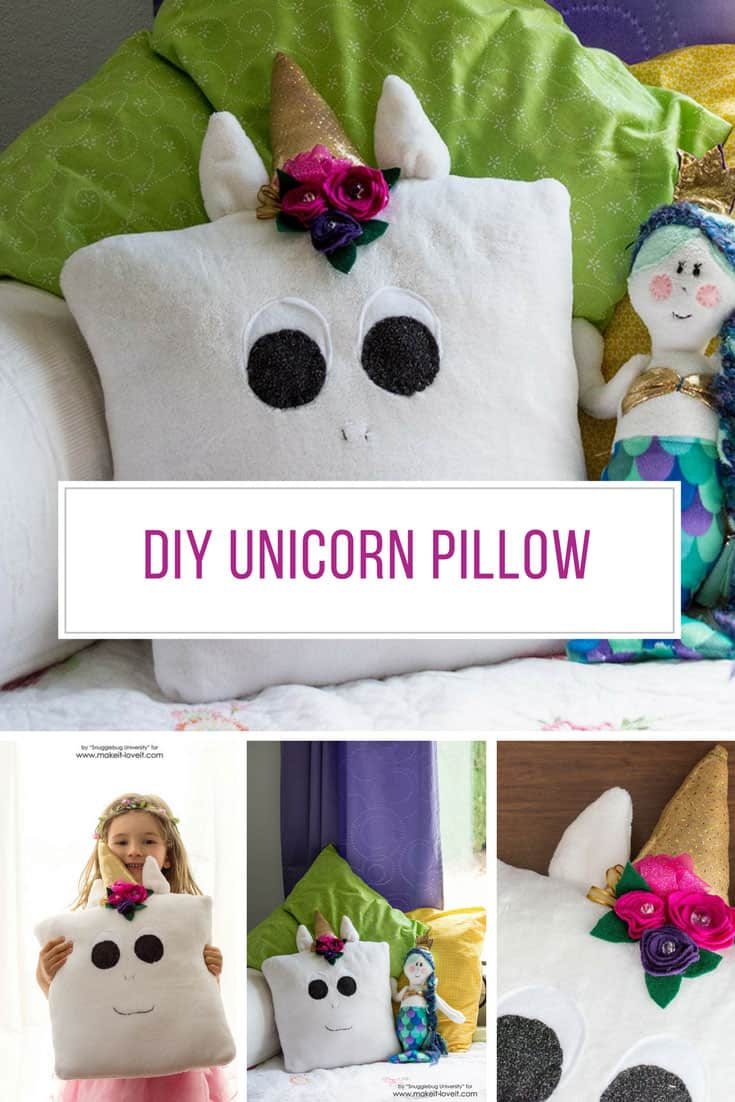 Loving thes DIY unicorn pillow craft - Thanks for sharing!