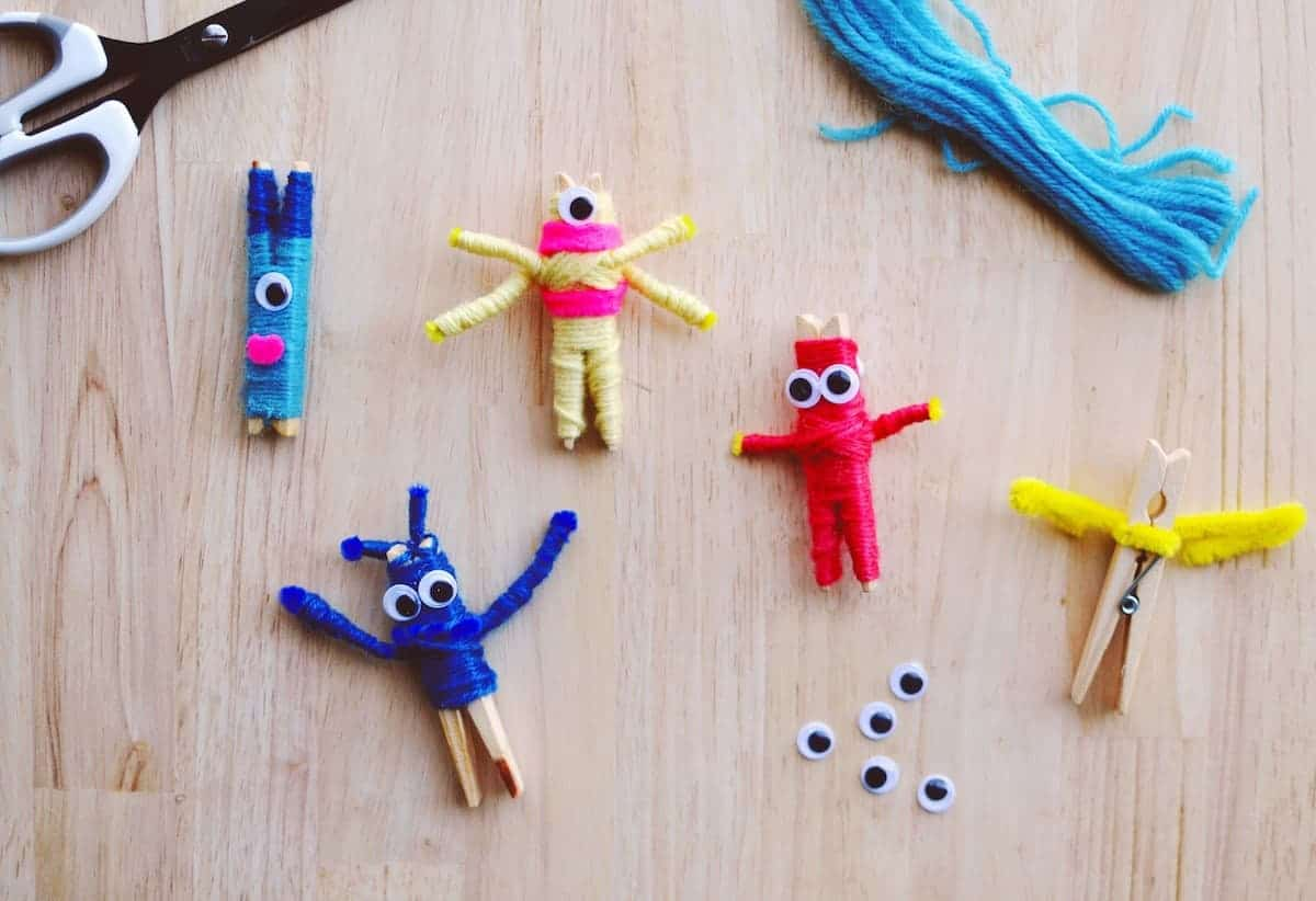 DIY Worry Dolls Halloween Style