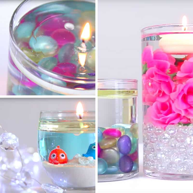 Loving these DIY water candles - Thanks for sharing!
