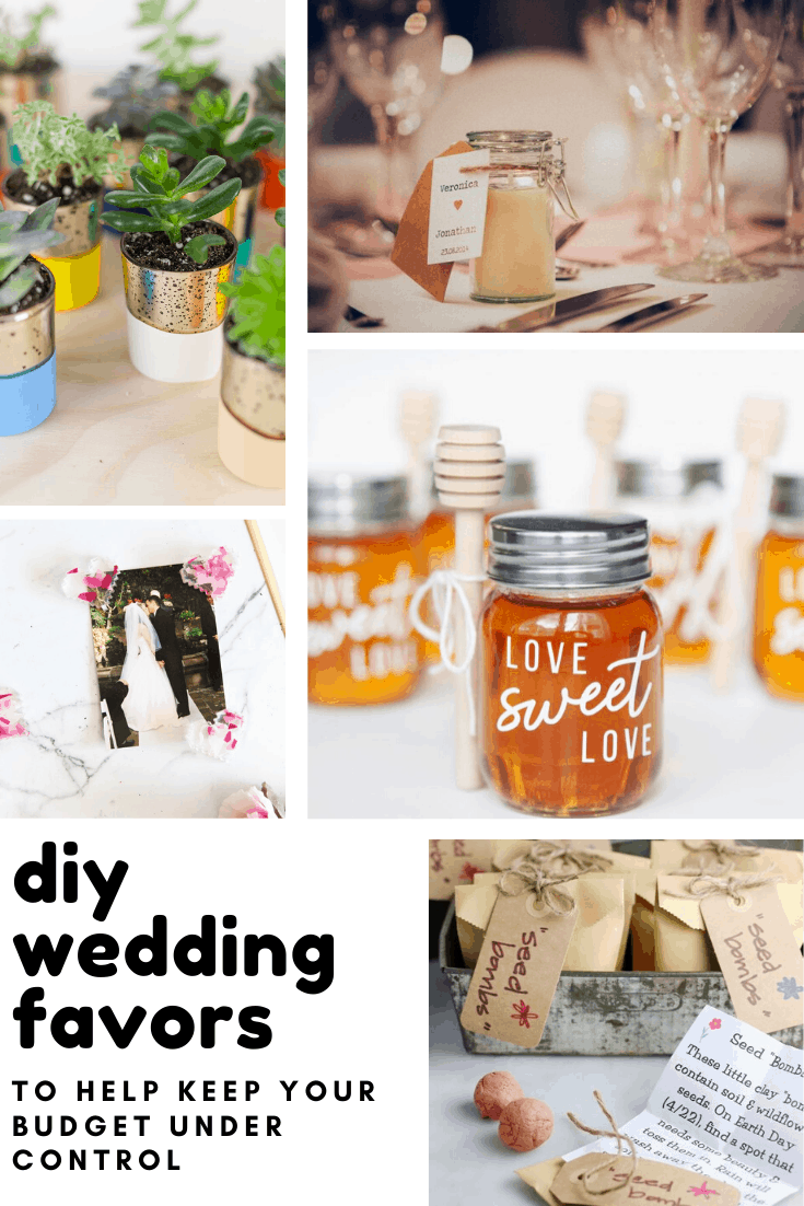 Not the crafty type? Don't worry these DIY wedding favors are so easy to make even you can do it!