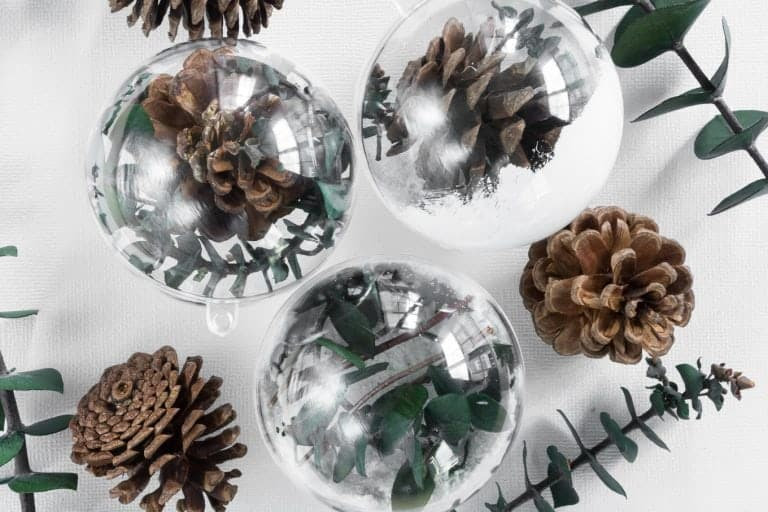 Simple Greenery-themed Ornaments