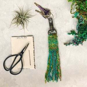 Never Lose Your Keys Again With this Beautiful DIY Tassel Keychain
