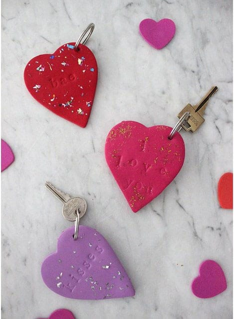 DIY Clay Keychain