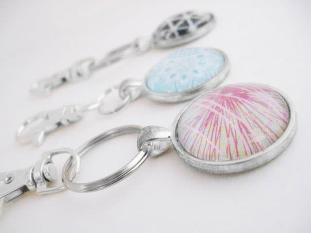 DIY Glass Orb Keychain
