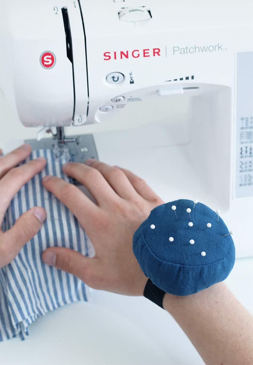 A friend who loves to sew will really appreciate this homemade pin cushion.