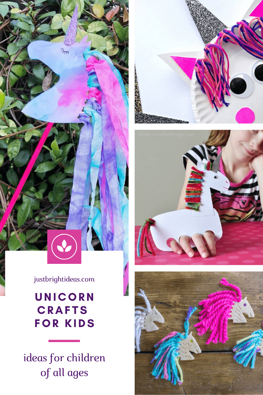 Hands up if you love unicorns! These easy to make crafts are perfect for kids and grownups - and a fun way to spend an afternoon