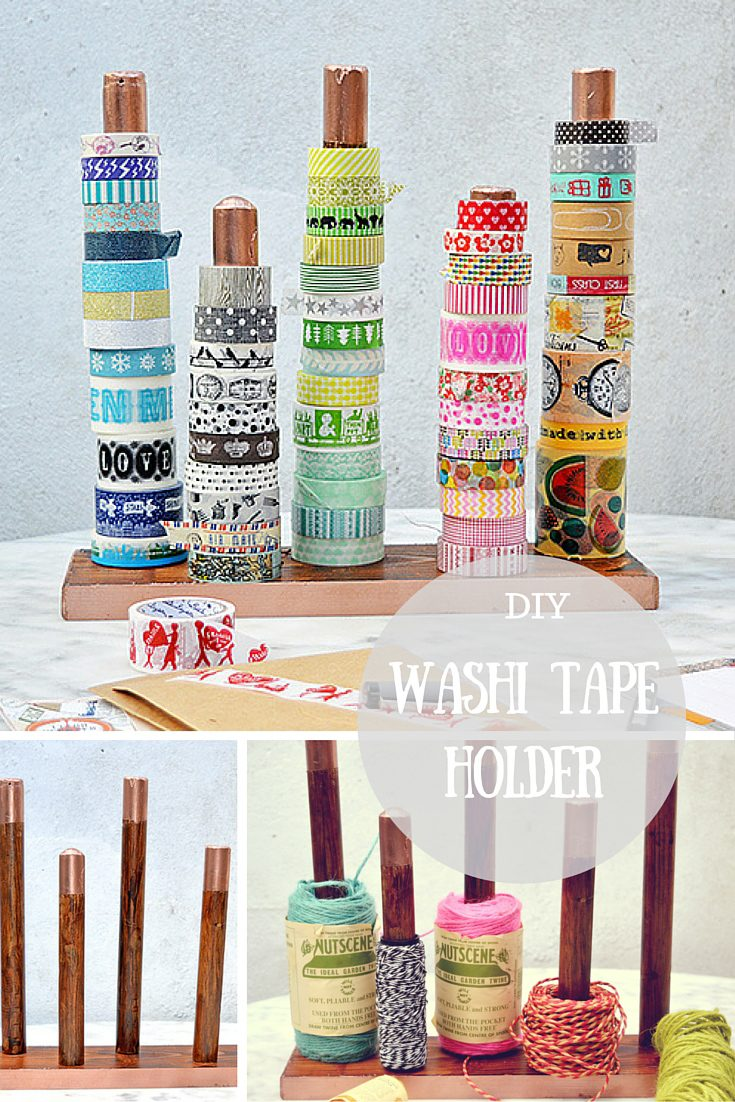 DIY Handy Washi Tape Holder