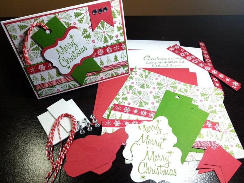 DIY Christmas Card Kit