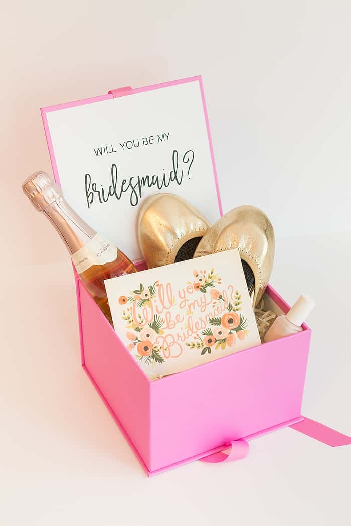 DIY Bridesmaid Proposal Box
