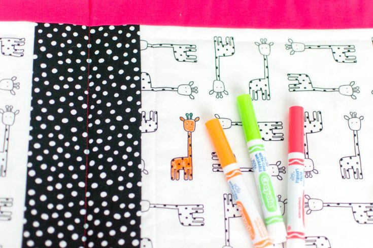 Sew a Washable Coloring Book