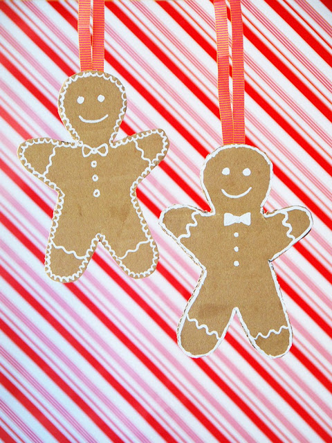 I would never have thought to use a correction pen to decorate a Gingerbread man!