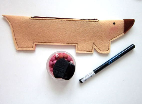 Dachshund Pencil Case Pattern