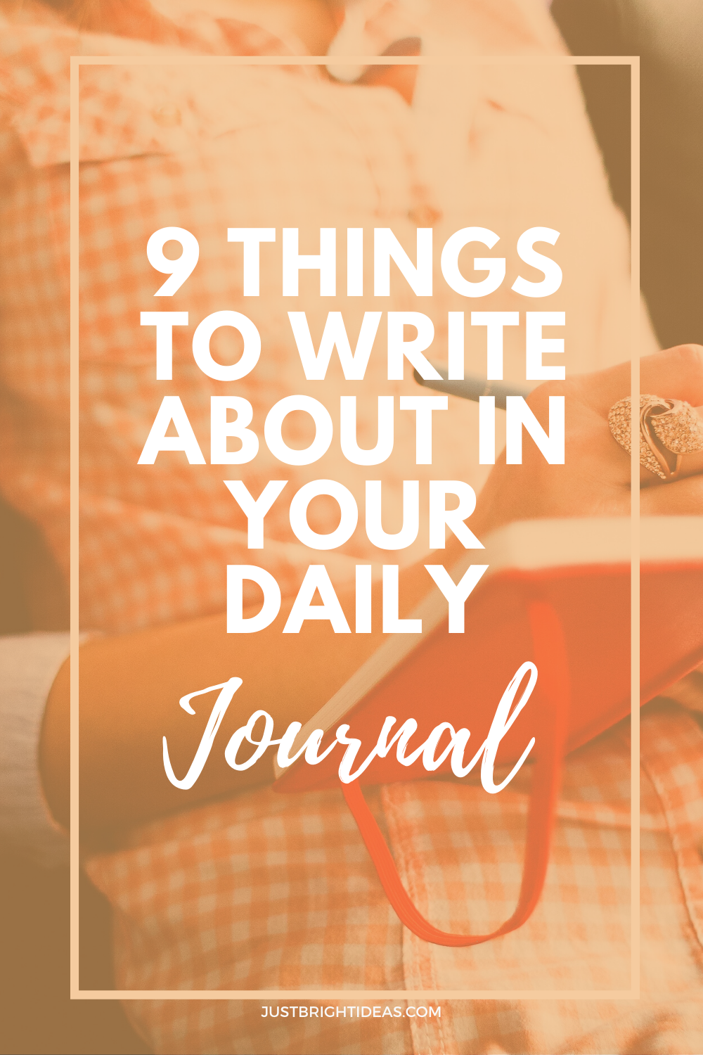 Never underestimate the power of keeping a daily journal - and if you need some ideas on what to write about we've got 9 things you might not of thought of!