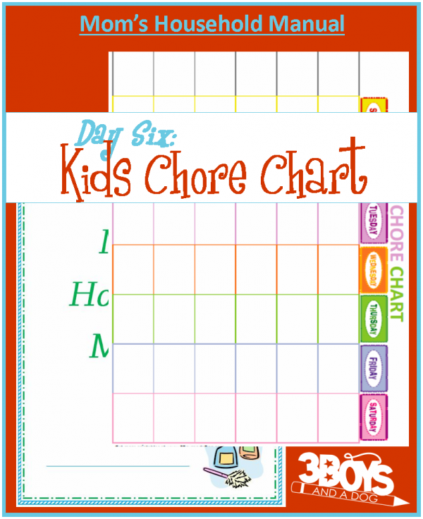 image regarding Printable Chore Charts for Multiple Children named Chore Charts for Young children they do the job together with magic!