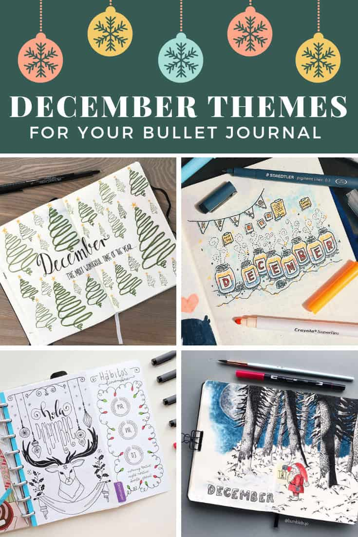 December Plan with Me Videos and Cover Pages