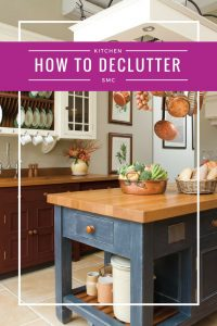 Declutter Kitchen Counters | Clutter | Homemaking | Organization
