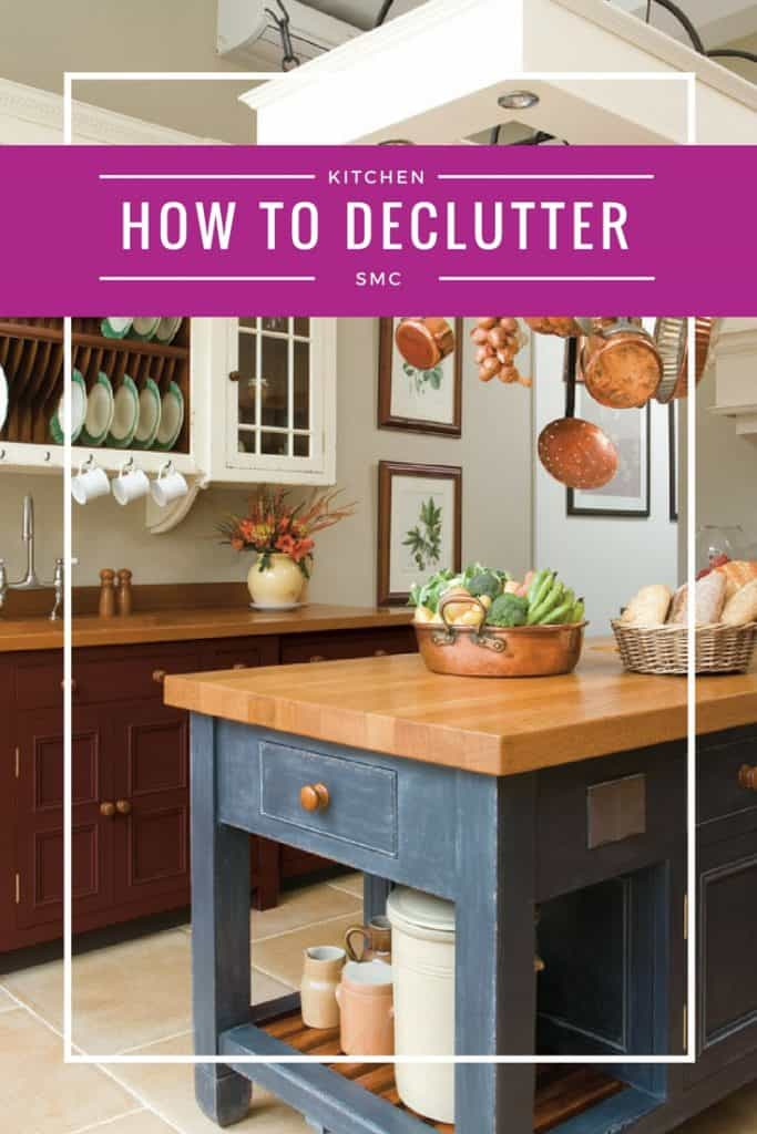 Declutter Your Kitchen Counters Before