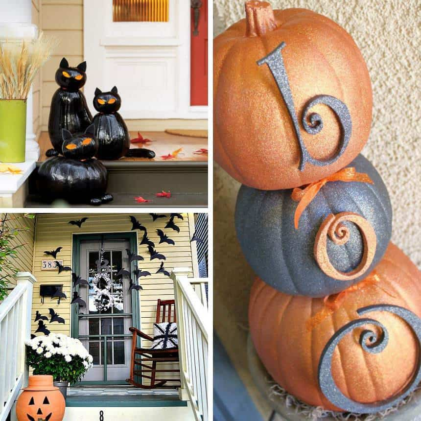 Decorate Your Porch for Halloween