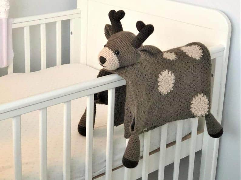 Woodland Deer Blanket
