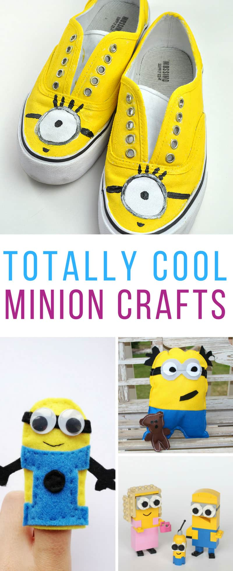 These Despicable Me Minion crafts are brilliant! Thanks for sharing!