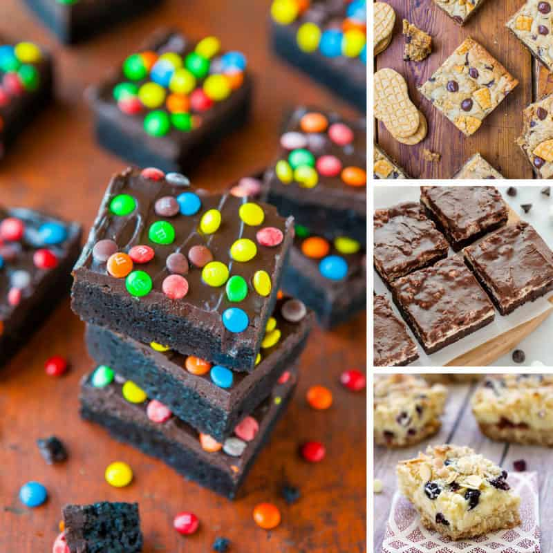These dessert bar recipes are delicious!