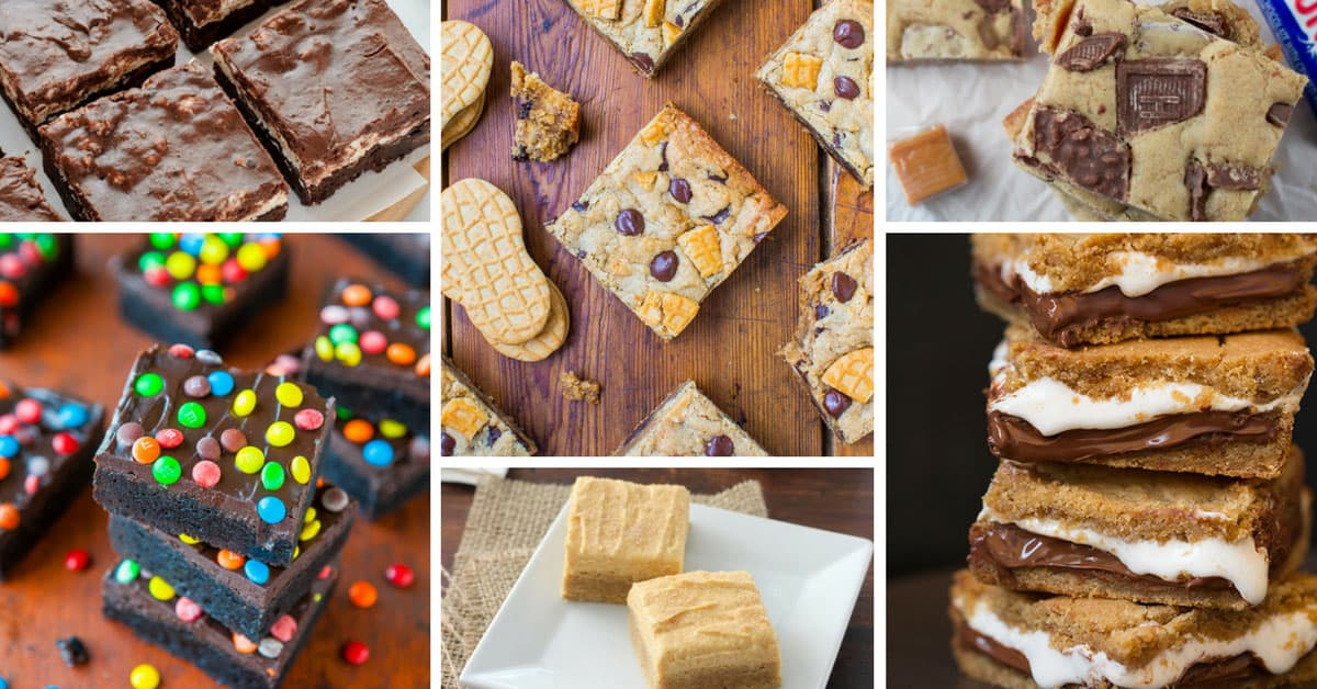 22 delicious dessert bar recipes you 39 ll want to keep to for Bar food ideas recipes