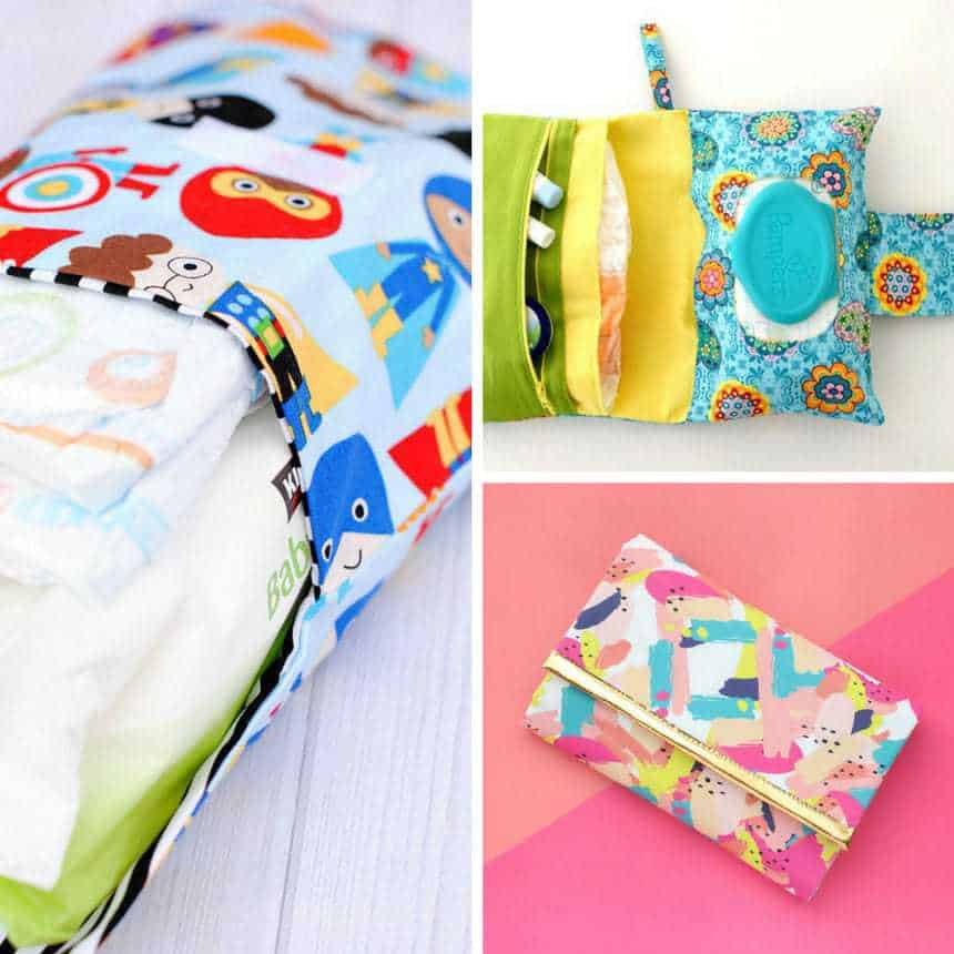 DIY Diaper Clutch Tutorials