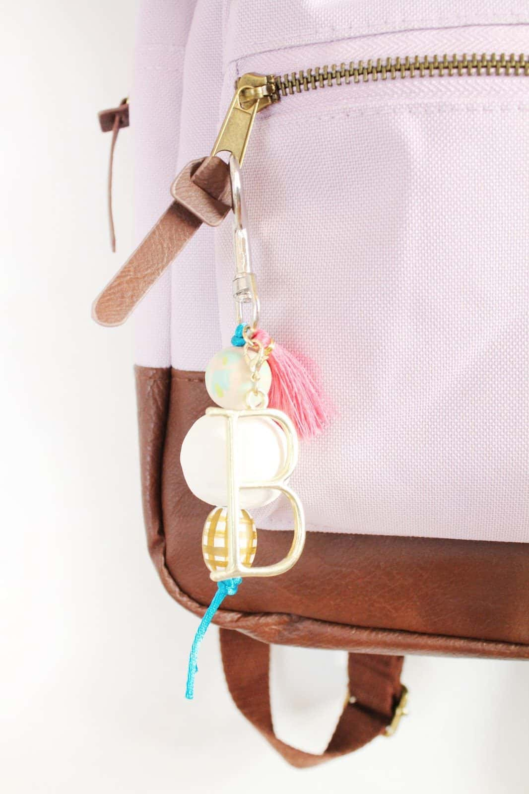 Diffuser Beaded Keychain