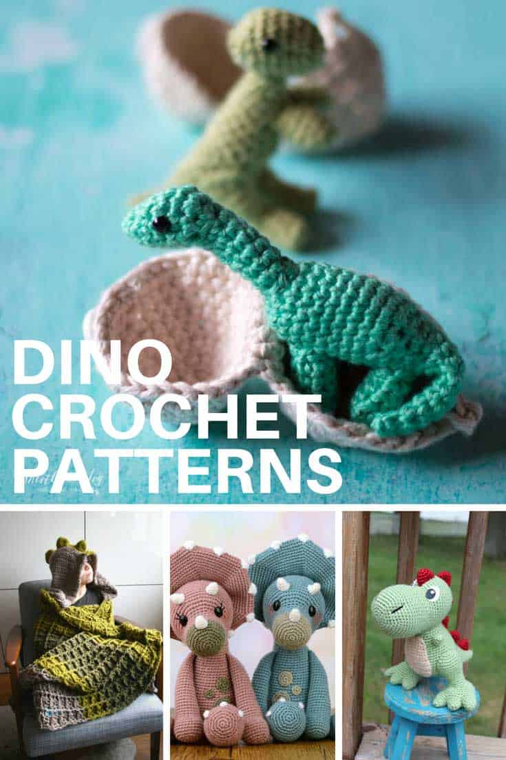 Dino Crochet patterns