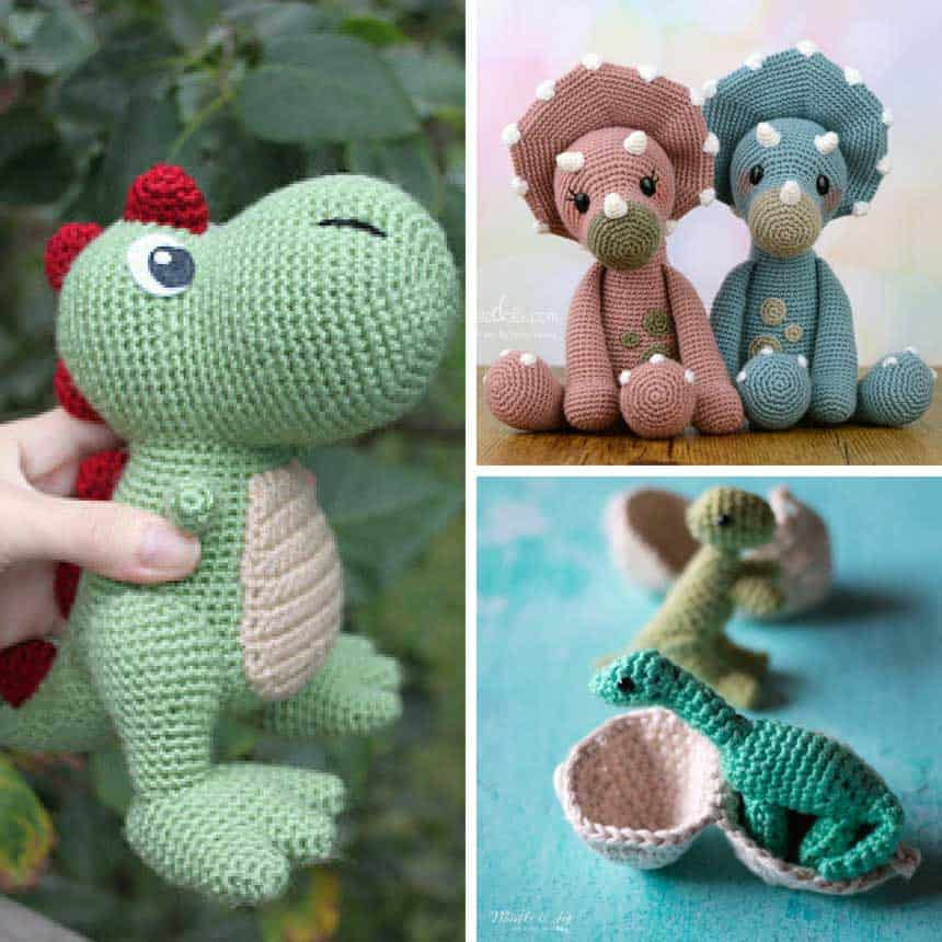 Dinosaur Crochet Patterns You'll Love